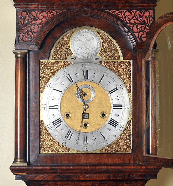 Largest 18c Longcase Grandfather Clock By Markwick